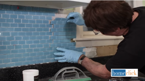 install backsplash